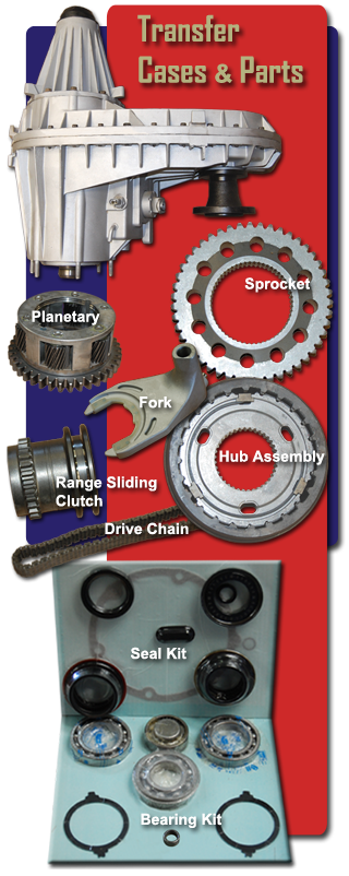 Transfer Case and Parts