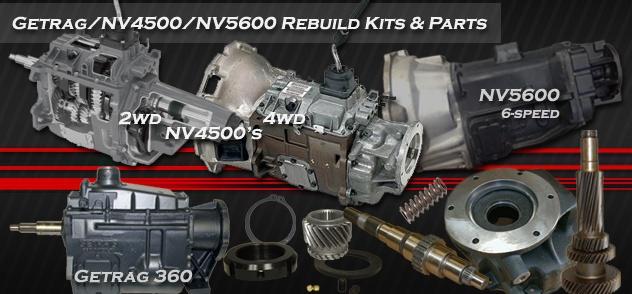 Nv4500 Transmission Parts