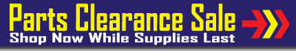 Car Parts Clearance Sale